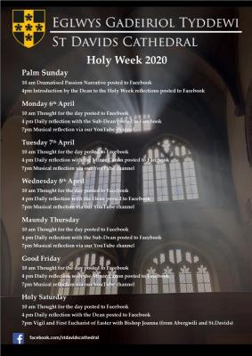 Holy Week at St Davids Cathedral